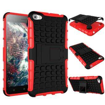 Harga LENOVO S60 Croco Shockproof Hard Rubber Phone Case with Stand