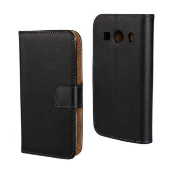 Harga PU Flip Leather Wallet Cover for Samsung Galaxy Ace Style LTE G357FZ / Ace 4 G357FZ (Black)