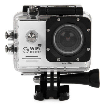 Harga SJ7000 Action Camera 2 Inch LCD Wifi Sports Cam Camcorder (Silver)
