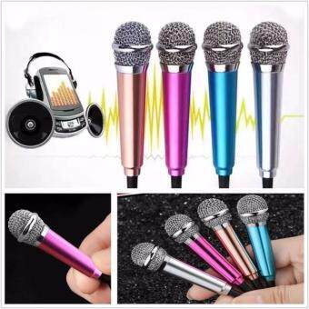 Harga Portable 3.5mm Mini microphone Stereo Mic for Singing Karaoke