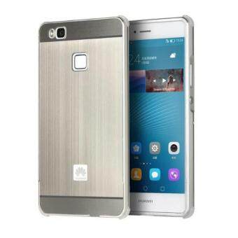 Harga Shockproof Aluminum Frame and PC Back Panel Cover Case for Huawei P9 Lite(Silver)