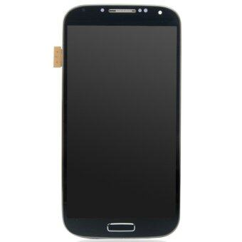 Harga Easybuy LCD Display Screen Touch Digitizer +Frame For Samsung Galaxy S4 i9500(Blue)