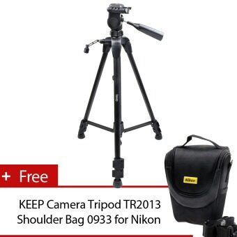 Harga KEEP Semi Professional Camera Tripod TR3720+Shoulder Bag 0933 forNikon (sku:708)