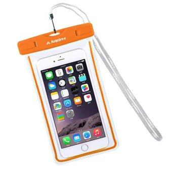 Harga Avantree Universal Waterproof Bag Case Orange for XiaoMi Redmi Note 3 2 1S Mi 3 4i Oppo Find 7 N1 N3 R7 Plus R5