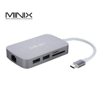 Harga MINIX NEO C Type-C Multiport Adapter (Compatible with MacBook) - HDMI Type (Gray)