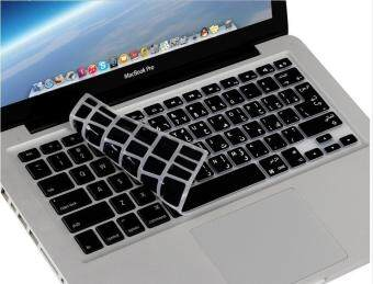 "Harga HRH Arabic Language Silicone Keyboard Cover Skin for Macbook Air 13 Pro 13""15"" inch, US&EU Version Black"