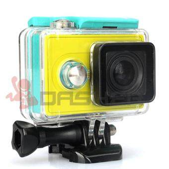 Harga KingMa Xiaomi Xiaoyi Yi Sport Action Camera Waterproof Case 45M Diving Fit Perfectly with Yi Cam