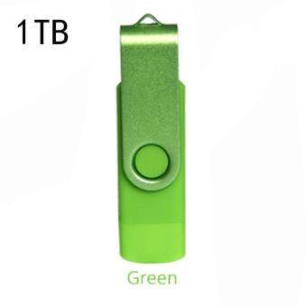 Harga Mini USB 2.0 Flash Drive 1TB(Green)