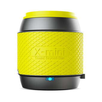 Harga X-Mini ME Fashion Portable Thumbsize Smartphone Speaker (Yellow)