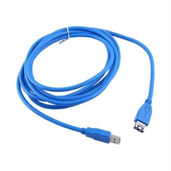 Harga 1m/1.8m/3m/ USB 3.0 A Male to Female Extension Data Sync Cable High Speed 1m