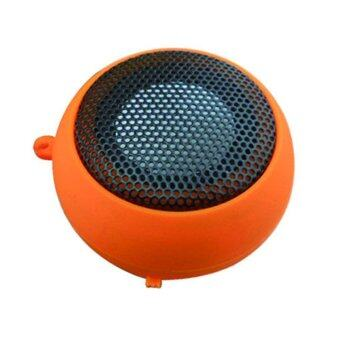 Harga Music Bluetooth Speaker (Orange)