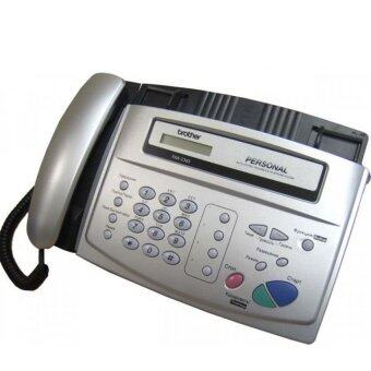 Harga Brother FAX-236S All-in-One Fax Machine Silver
