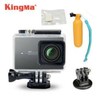 Harga (Genuine) Kingma 40m Diving Waterproof Housing Case for Xiaomi XiaoYi Yi 2 4k Action Camera + Bobber + 12 pcs Anti-Fog Inserts