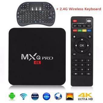 Harga MXQ PRO Android 5.1 TV Box S905 Quad Core 1G/8GB/4K Wifi HDMI(UK Plug)
