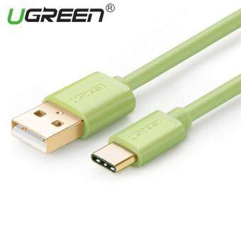 Harga UGREEN USB to Type C Data Sync Charger Cable (1.5m) Green