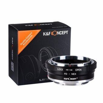 Harga K&F Concept Adapter mark II for Canon FD Lens to Sony E-Mount Camera NEX a7R2