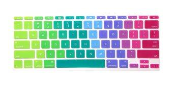 "Harga HRH US Silicone Keyboard Cover Keyboard Skin for All Apple Macbook Air 11.6 11"" inch (Multicolor)"