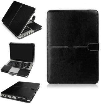Harga YBC 11 Inch PU Leather Laptop Case Cover for MacBook Air Pro 13 15 Retina