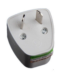 Harga White AC 250V 10A 2Pin AS,SAA changeover plug,AS plug to universal socket for Australia travel Docks
