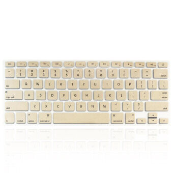 Harga Welink Fashion Silicone US Keyboard Cover Waterproof Keyboard Protector Skin For Apple Macbook Air 13 Inch Macbook Pro 13 Inch 15 Inch And Imac (Gold)