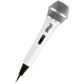 Harga IK Multimedia iRig Voice Handheld Microphone for smartphones and tablets - White