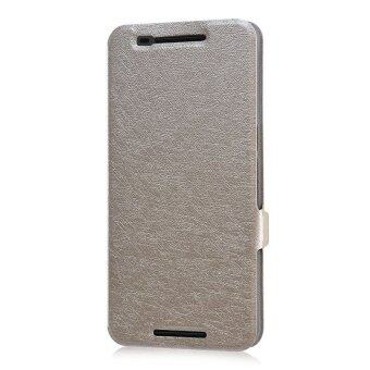 Harga Leather Case Flip Cover for Huawei Nexus 6P (Gold)