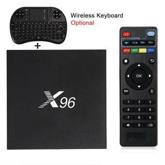 Harga X96 Android 6.0 TV Box Amlogic S905X Max 2GB RAM+16GB ROM Quad Core WIFI HDMI 4K*2K HD Smart Set Top BOX Media Player PK A95X