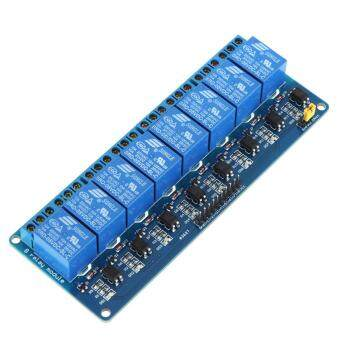 Harga 8 Channel 5V Relay Shield Module Board Optocoupler module for Arduino PIC AVR MCU DSP ARM