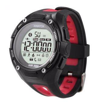 Harga XWatch Bluetooth Outdoor Sport Smart Watch for Android and iOS (Red)