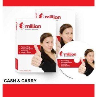 Harga Million Software - Account + Invoicing Billing (Single User) - Free 8GB Pen Drive