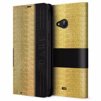 Harga Microsoft Lumia 535 Folding Case (Gold)