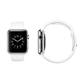 Harga Apple Watch 42mm Silver Aluminum Case with White Sport Band