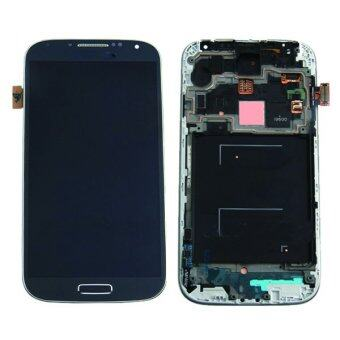Harga Original For Samsung Galaxy S4 I9500 LCD Display+Touch Screen Digitizer Assembly With Frame Black Color