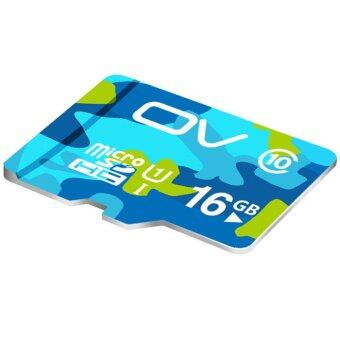 Harga OV Micro SDHC Camouflage Version Class 10 Memory Card 16GB - Intl