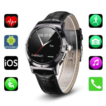 Harga RWATCH R11S Smart Watch for Android iOS(Black)