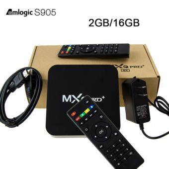 Harga MXQPro Tv Box Amlogic S905 Quad-Core Cortex-A53 Android 5.1 2gb/16gb KODI 4K Smart tv box 3D 2.4GHz WiFi 1000M LAN Media Player