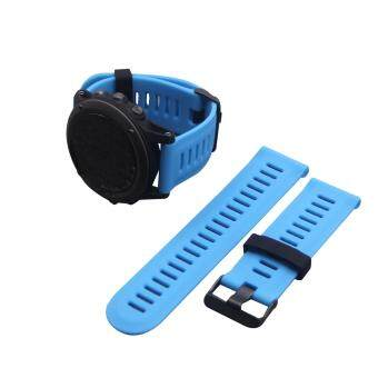 Harga Replacement Silicone Watch Band Strap for Garmin Fenix3/Fenix3 HR GPS Watch With Tools