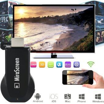 Harga Mirascreen DLNA Airplay WiFi Display Miracast Mini Pc Android TV Dongle HDMI Multi-display Full HD 1080P Receiver PK Anycast M2