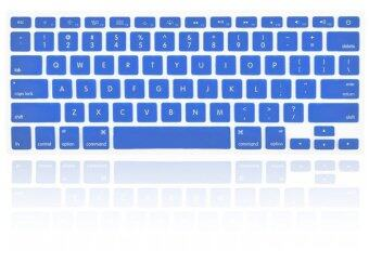 "Harga Silicone Keyboard Cover Skin For Apple Mac-book Air / Mac-book Pro QWERTY 13""/15"" Inch (Blue)"