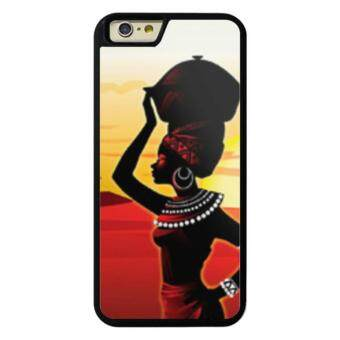 Harga Phone case for iPhone 6Plus/6sPlus African Woman cover for Apple iPhone 6 Plus / 6s Plus