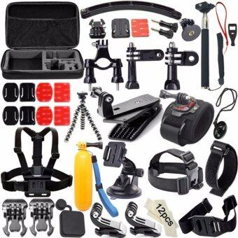 Harga Sports Action Camera Accessories Waterproof Camera Kit for GoproHero4+/3/2/1.SJ CAM Xiaoyi.Sony Action Cam Accessories