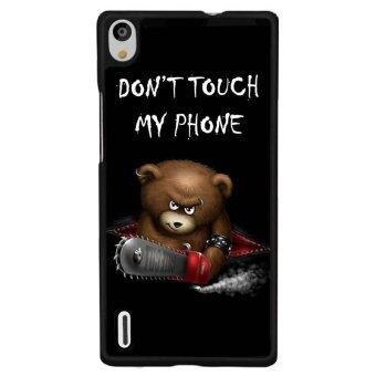 Harga Young Fashion Hot Sale Naughty Bear Warning Picture Phone Case For Huawei P9 Plus(Multicolor)