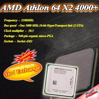 Harga AMD Athlon 64X2 4000+ 2.1Ghz Socket AM2 Processor (Refurbished)