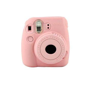 Harga Noctilucent Camera Case Skin Cover For FUJIFILM Instax Mini8 Mini8s Pink