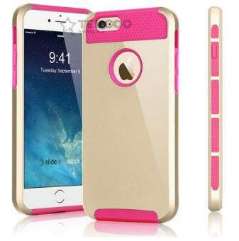 Harga Case Cover for Apple iPhone 6 Plus / 6s Plus Hard Plastic Back Cover i5 i6 i7 Mobile Phone Case(Pink)