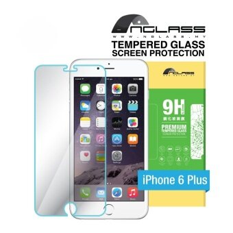 Harga nGlass iPhone 6 Plus Tempered Glass Screen Protector