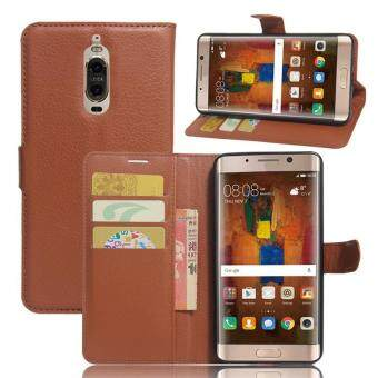 Harga BYT Leather Flip Cover Case for Huawei Mate 9 Pro
