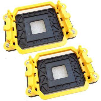 Harga 2 Pcs CPU Radiator Fan Holder Computer Desktop Mainboard Bracket Base Mount 95*48mm for AMD / AM2 / AM3 / AMD 940