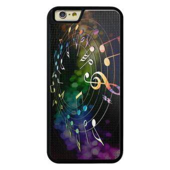 Harga Phone case for iPhone 6Plus/6sPlus Music Note cover for Apple iPhone 6 Plus / 6s Plus