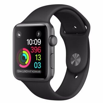 Harga Apple iWatch Series 1 MP022TH/A 38mm Grey Aluminium case with black sport band (1 Year Apple Malaysia Warranty)